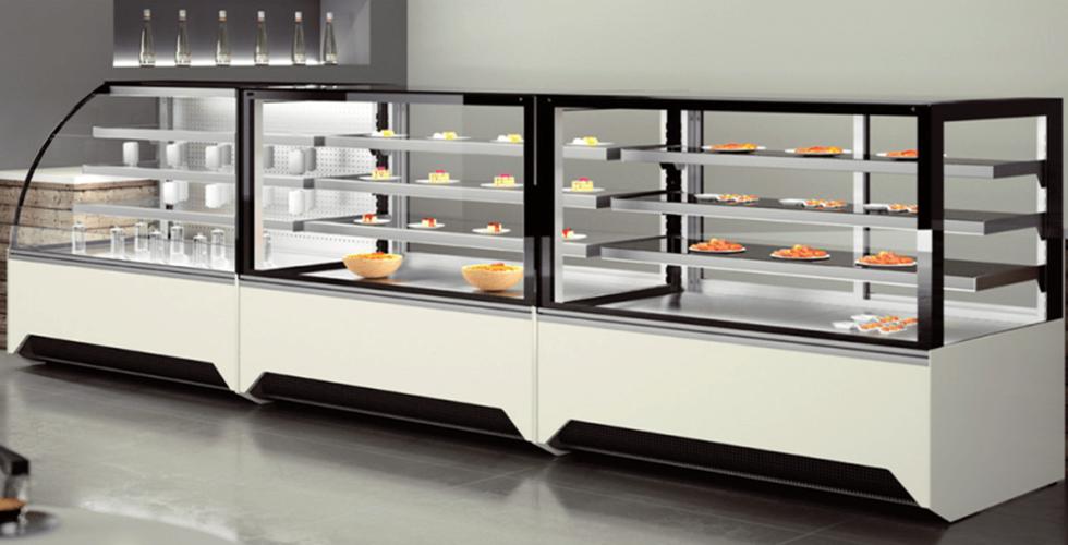comptoir réfrigéré chocolatier