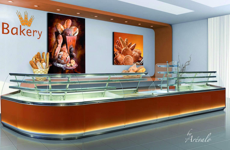 Vitrine de boulangerie Granada Curve